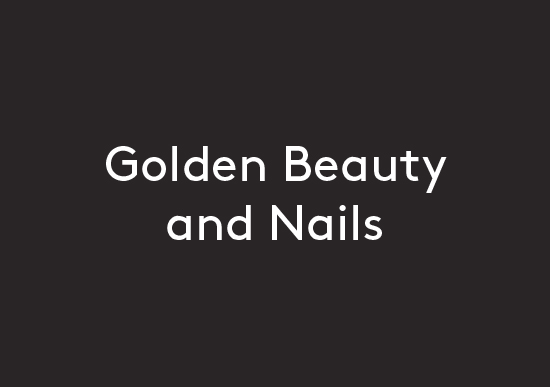 Golden Beauty and Nails logo